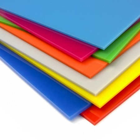 Colour, Opal, Frosted Acrylic Sheets